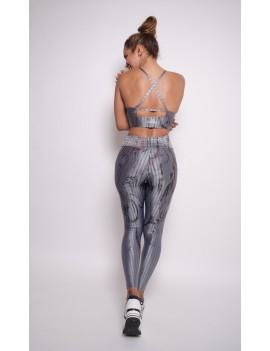 Sports Bra Curvas Latina Sportswear - Ysaunny Ikat