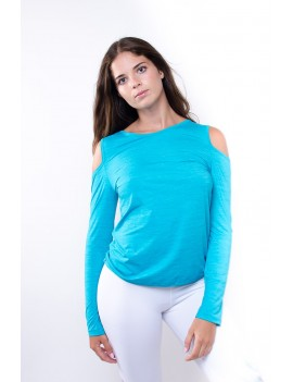 T-Shirt Long Sleeve Curvas...