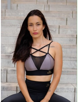 Sport Bra Divina - Lila and...